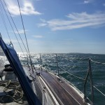 channel crossing sailing trip solent