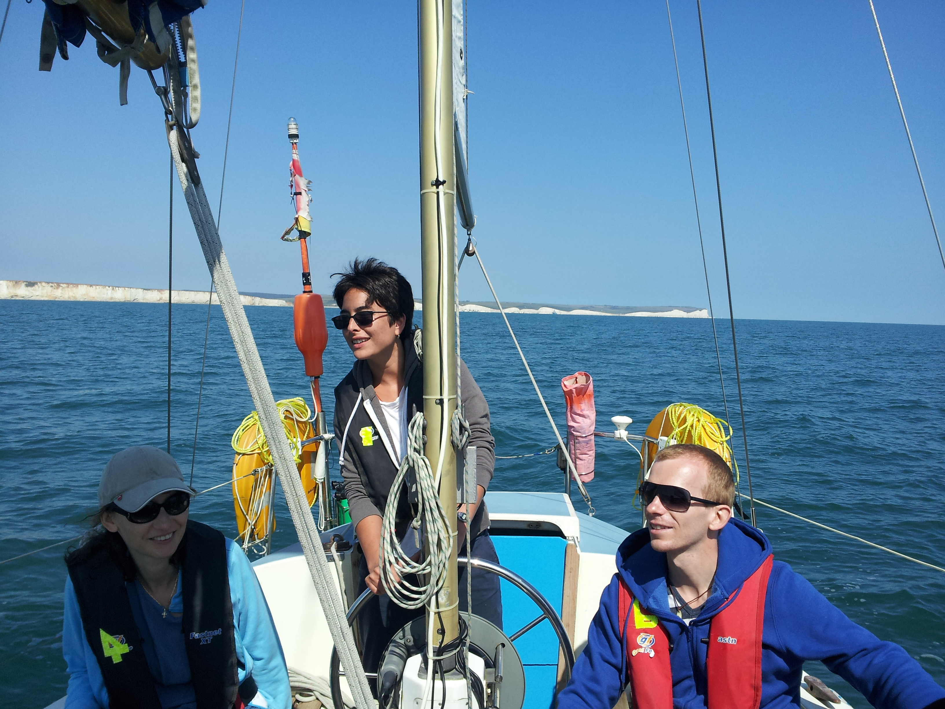 RYA Day Skipper Sailing Course solent southampton chichester