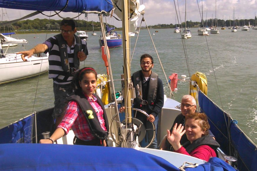 migrant english project sail 2016