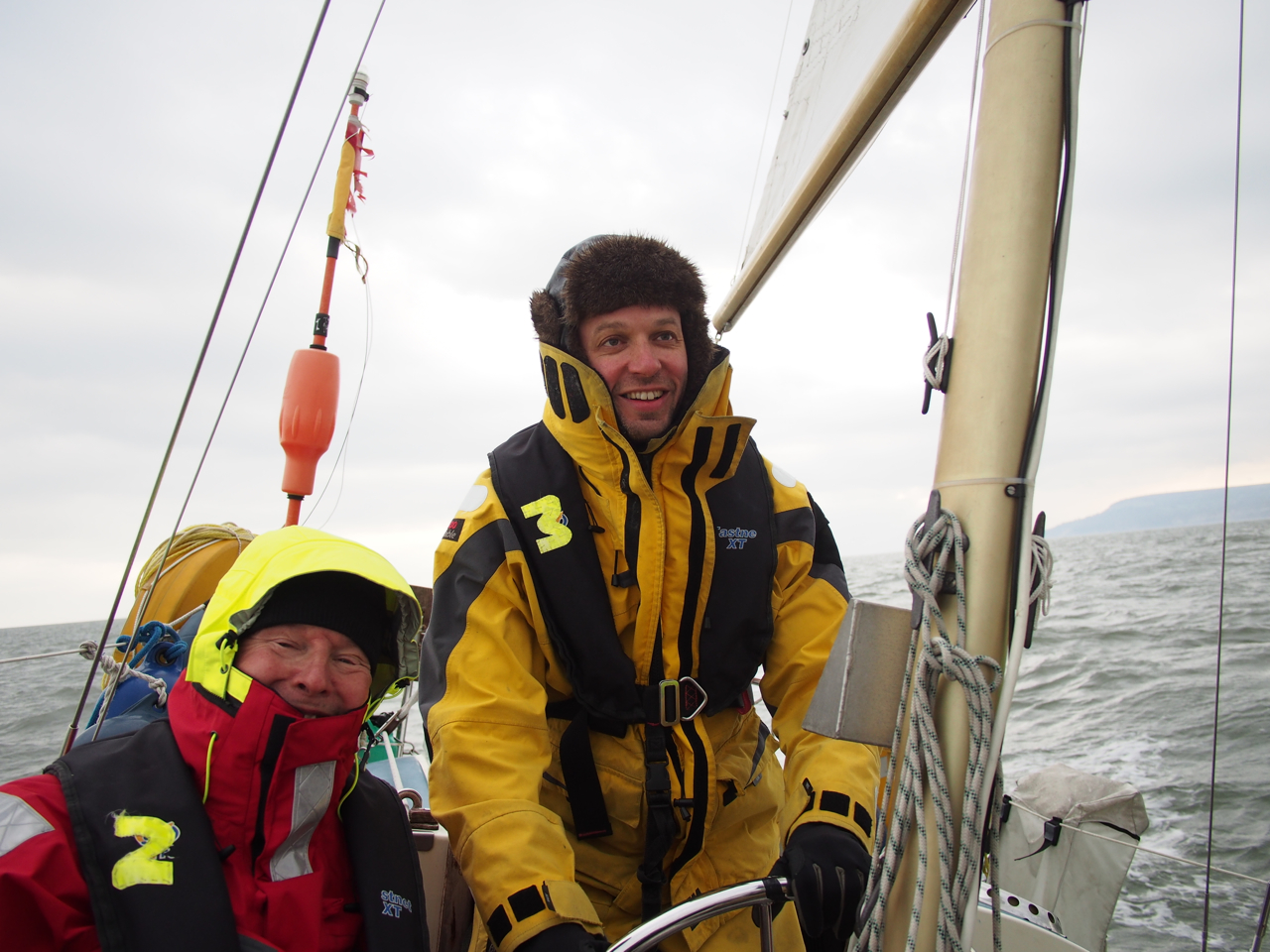 RYA Coastal Skipper sailing course Solent Southampton Chichester