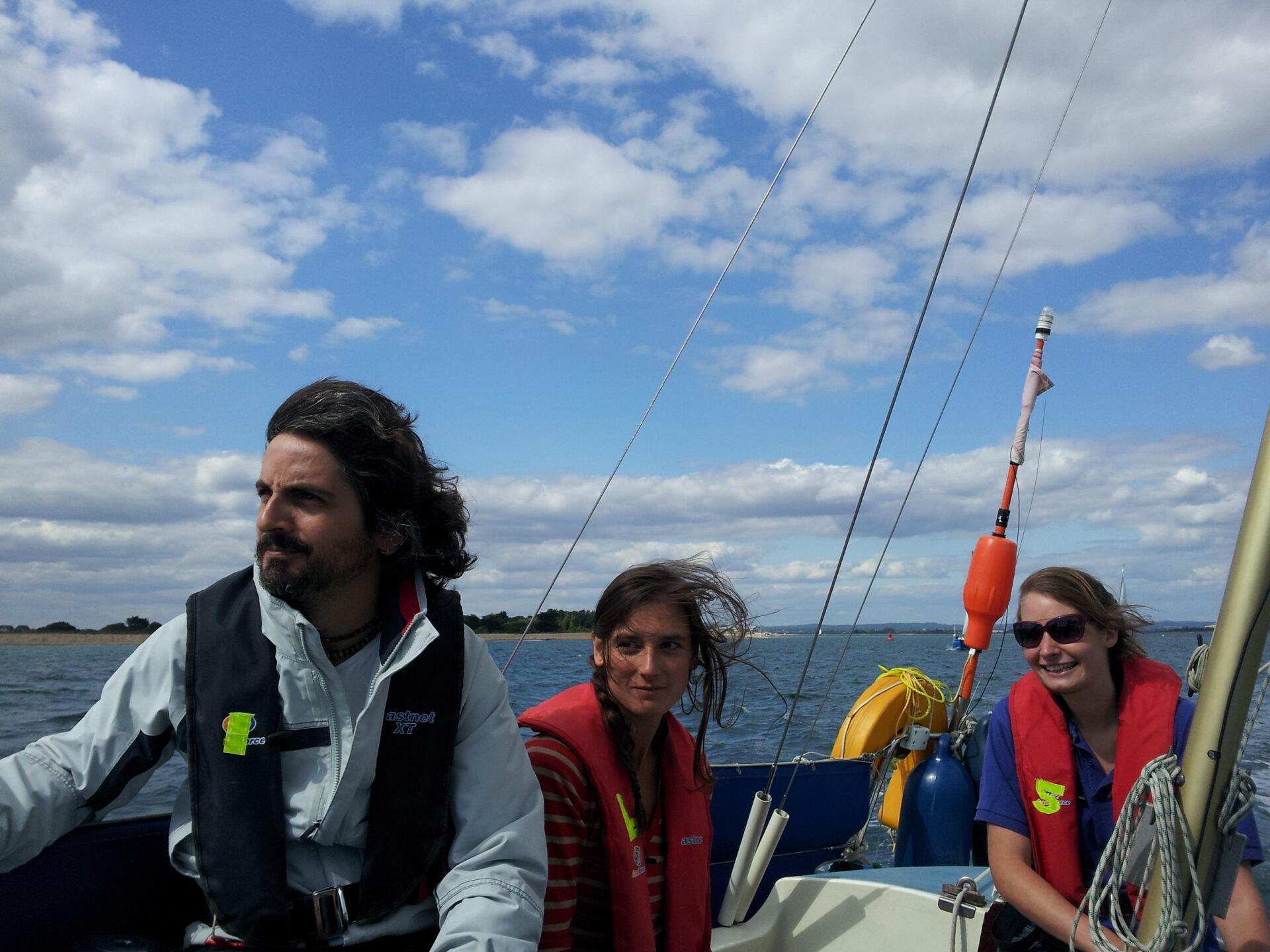 Chichester taster sail