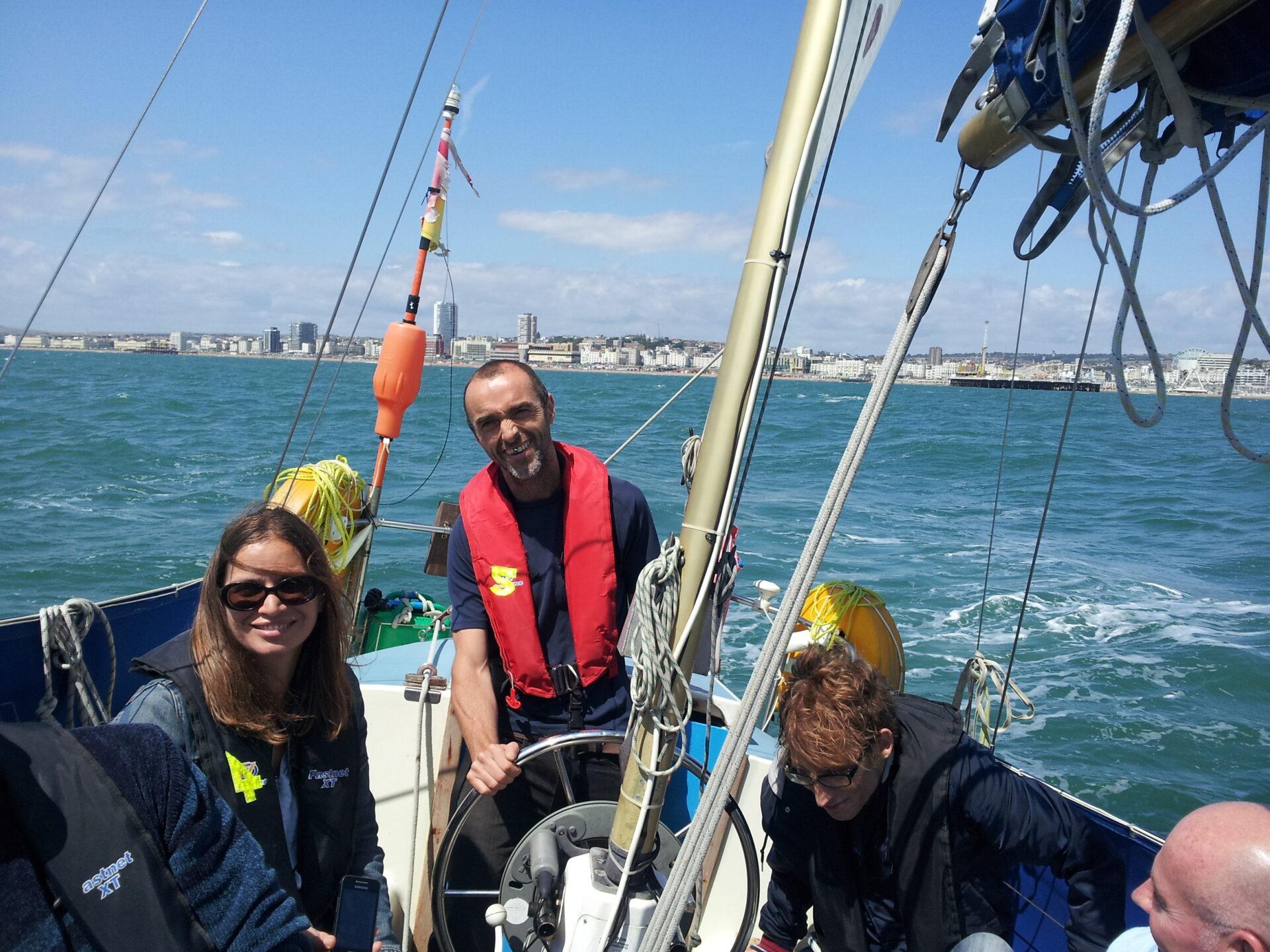 Taster sails off Brighton Chichester Southampton