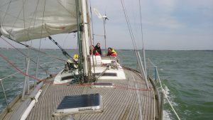 learn to sail Day Skipper Chichester Solent 11