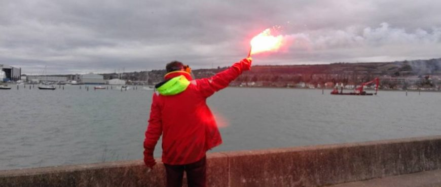 ISAF flare picture