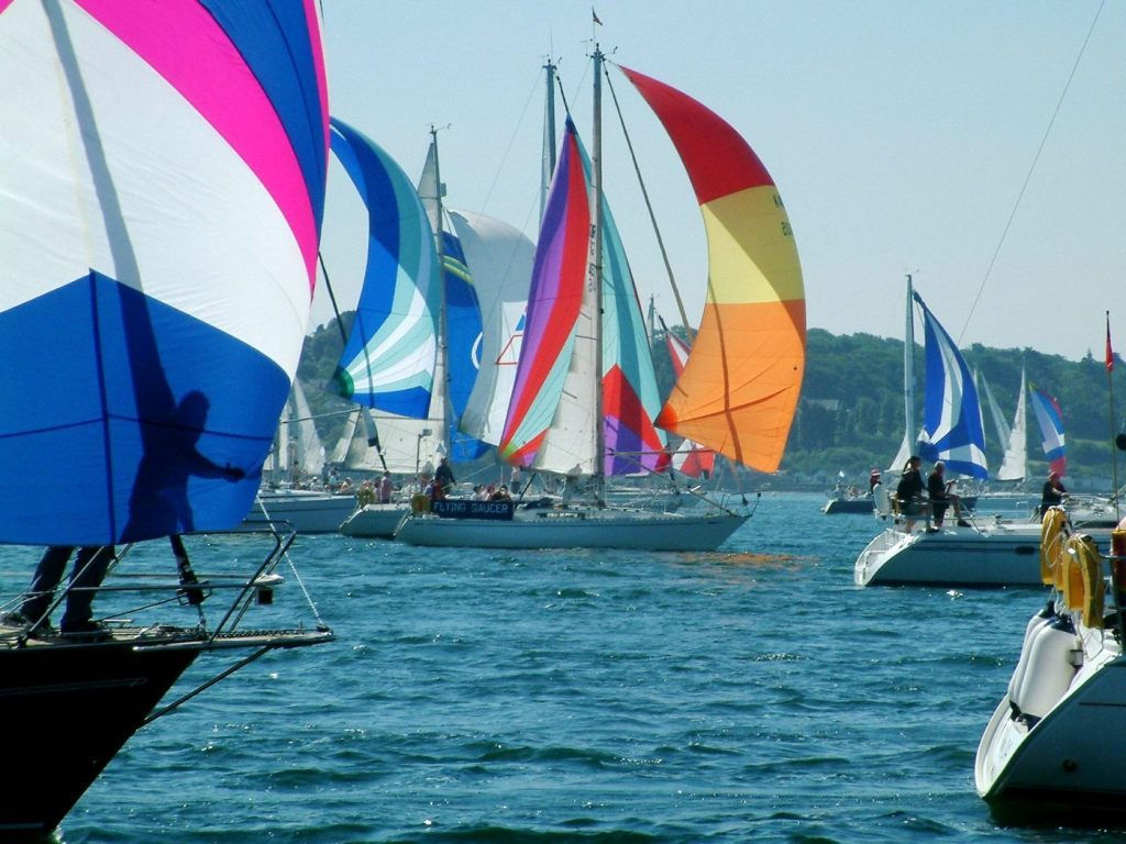 round the island race fleet