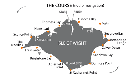 round the island race map