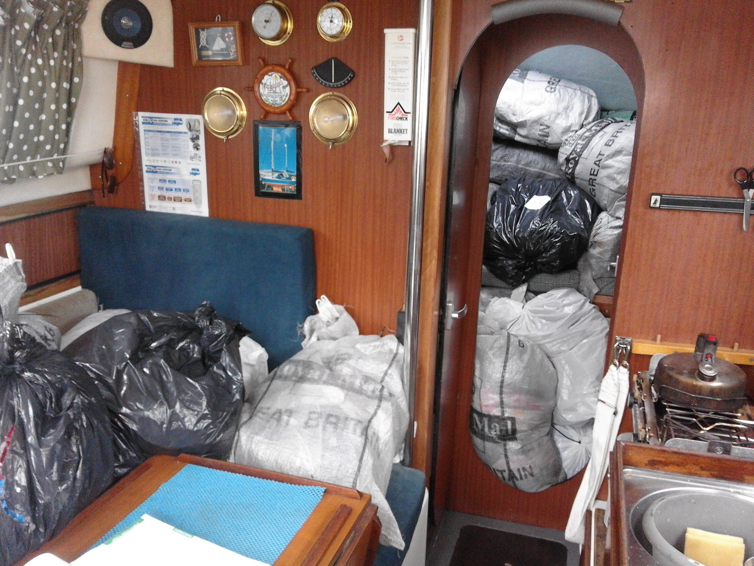 sail cargo sail transport solent chichester isle of wight
