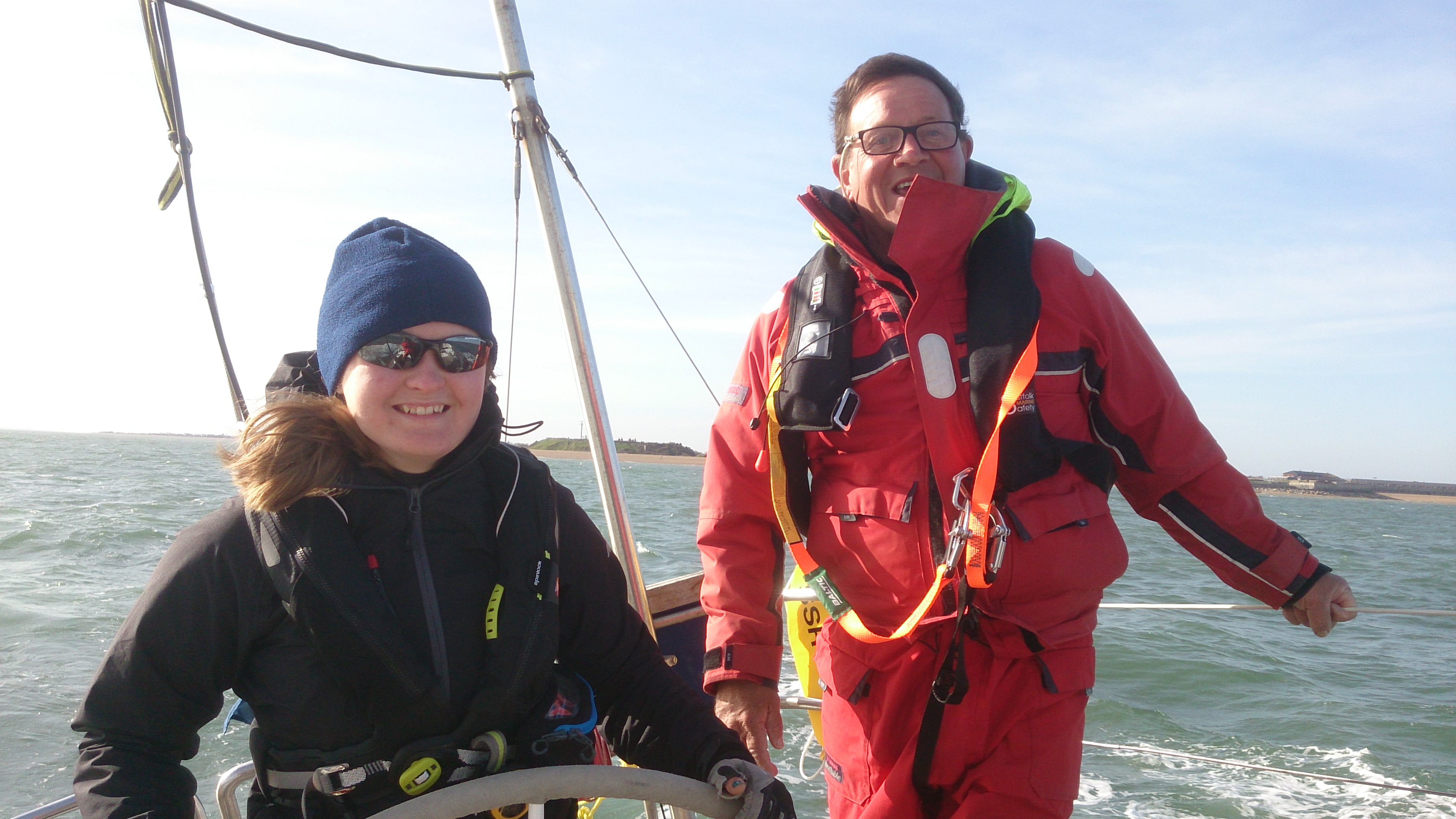 Jalapeno in action – Learn to sail Day Skipper