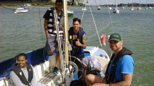 Migrant English Project Summer Sailing Day