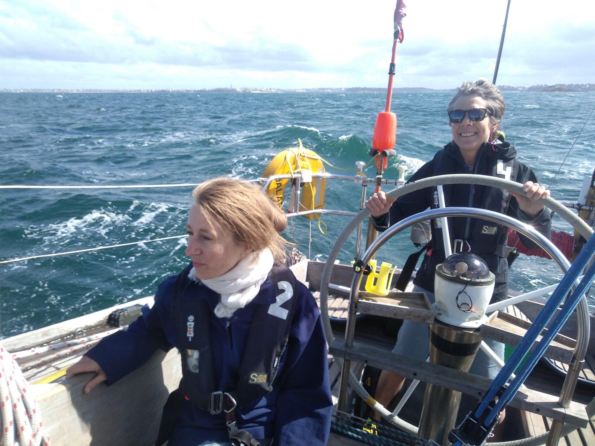 Falmouth sailing trip